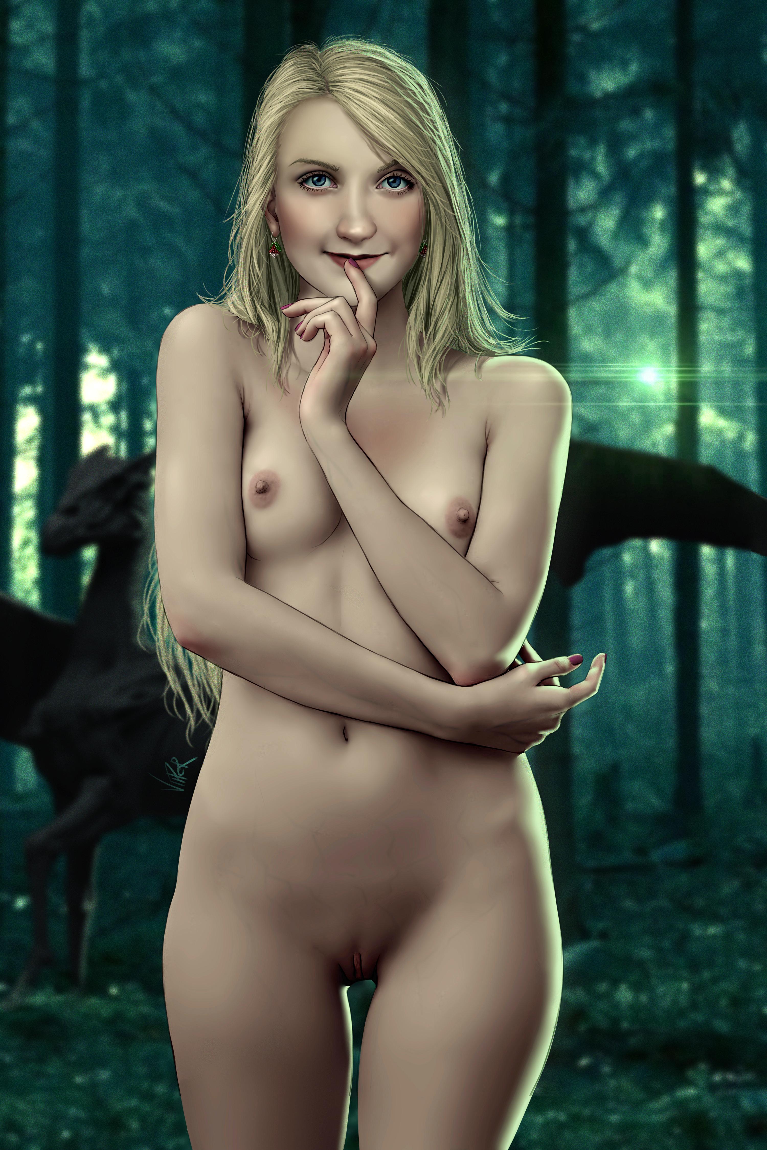 Luna lovegood nude